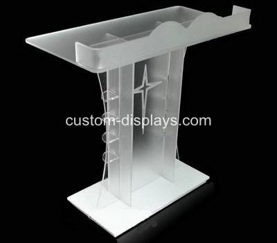 Modern acrylic rostrum lectern podium CAF-007