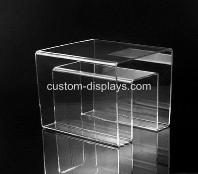 new design unique clear acrylic coffee table with magazine CAF-009