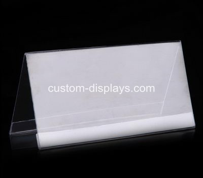 Double sided sign holder CAS-004