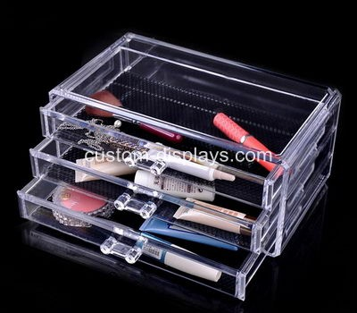 Acrylic makeup drawers CMD-003