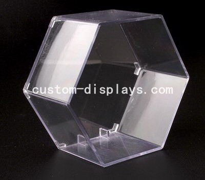 Hexagon clear display box CAB-003