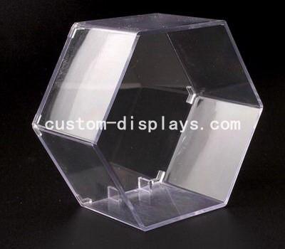 Hexagon clear display box CAB-003