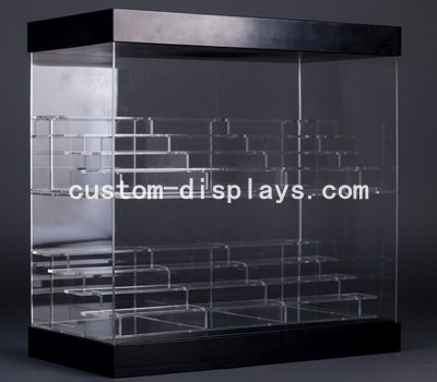 Large clear display case CAB-006
