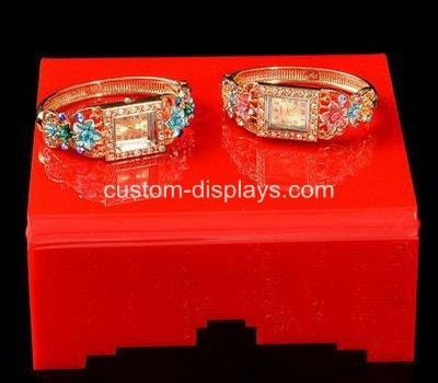 Red acrylic jewelry stand CJD-020