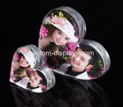 Heart shaped photo frame CPF-008