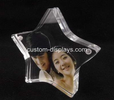 Star shaped photo frame CPF-009