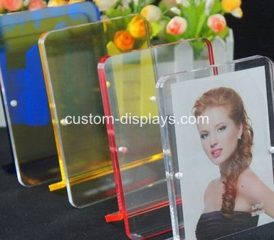Clear plastic picture frame CPF-017