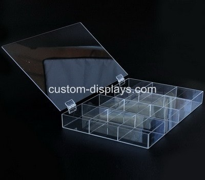 Plastic case with dividers CAB-012