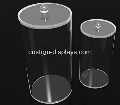 Acrylic round containers CAB-017