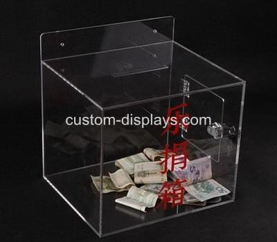 Wall mounted donation box CAB-025