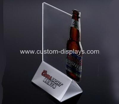 Custom acrylic sign holders CAS-026
