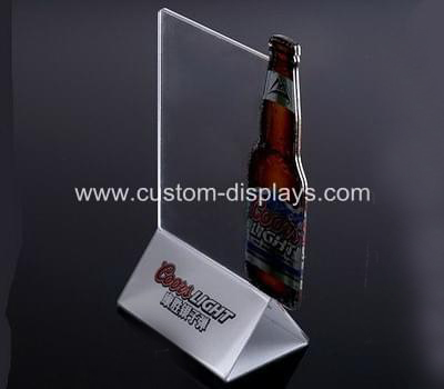 Custom acrylic sign holders CAS-026