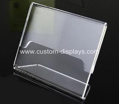 Acrylic table talkers