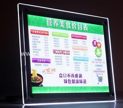 LED sign holder