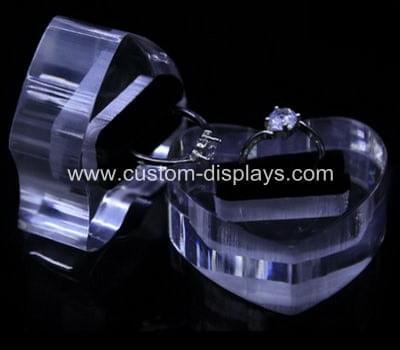 Acrylic ring holder