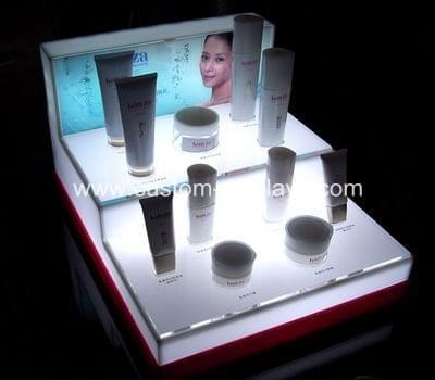 LED makeup display stand