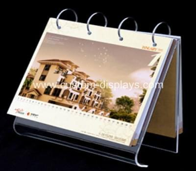 Acrylic calendar holder