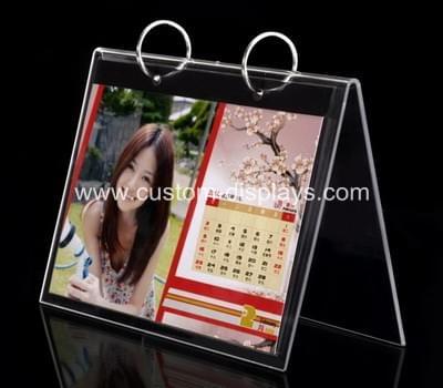 Acrylic calendar stand
