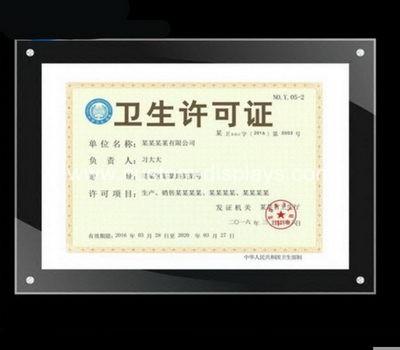 A4 certificate frames