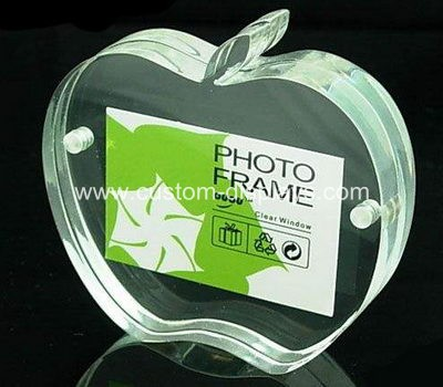 Apple shaped photo frame