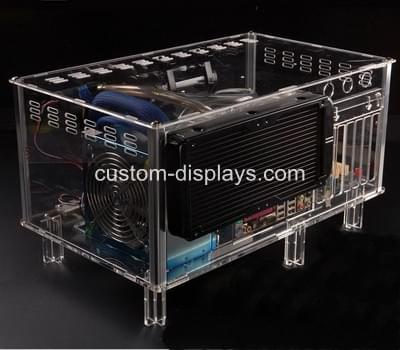 Plexiglass computer case