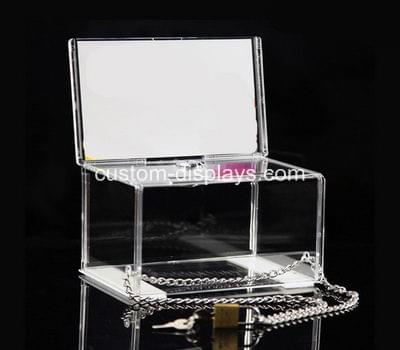 Acrylic charity collection boxes