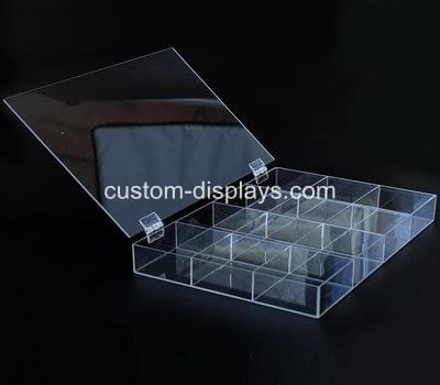 Acrylic Box With Hinged Lid Clear Box With Hinged Lid