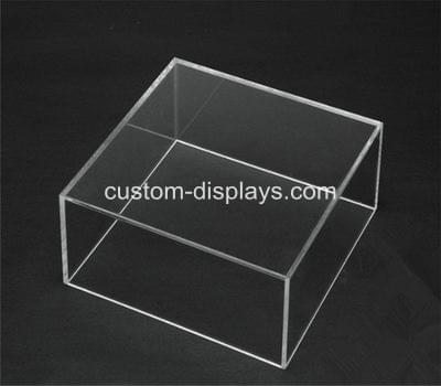 Five sided acrylic box