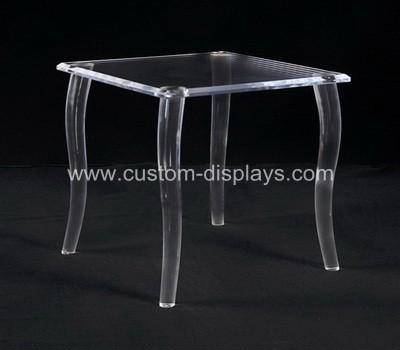 Plexiglass table