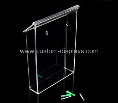 Acrylic outdoor brochure holder