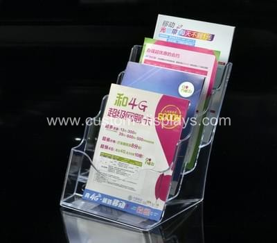 Acrylic literature display