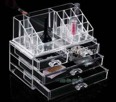 Acrylic beauty organizer