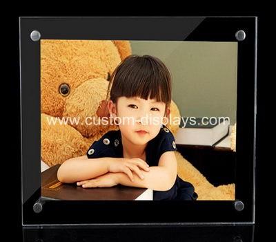 Wall mounted acrylic photo frames
