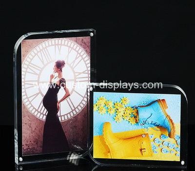 Acrylic block photo frames
