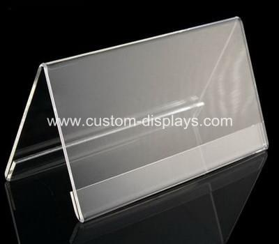 Acrylic table tent holders