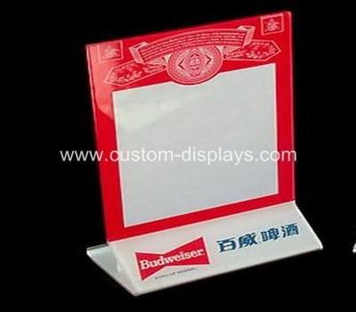 Custom sign holders