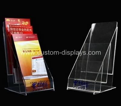 3 tier literature holder
