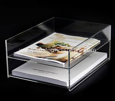 acrylic desktop file organizer