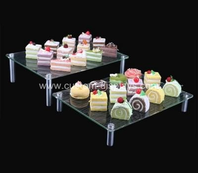 Acrylic buffet risers