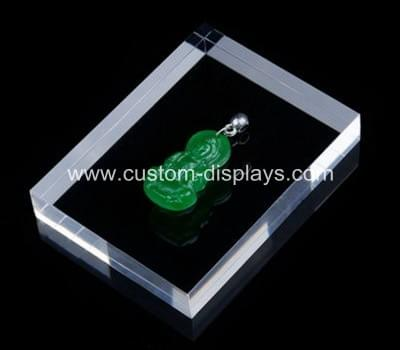 Perspex blocks for display