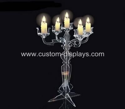 Acrylic candle holders