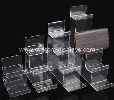 Acrylic wallet display