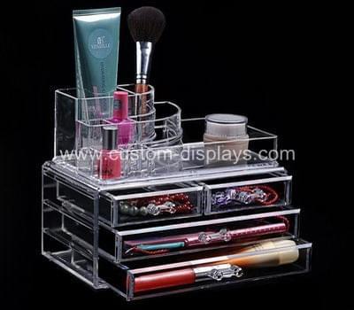 Makeup organizer drawers