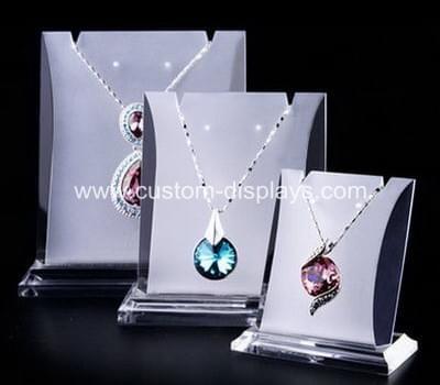 Standing necklace holder