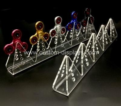cot-036-2 Clear acrylic finger spinner display stand