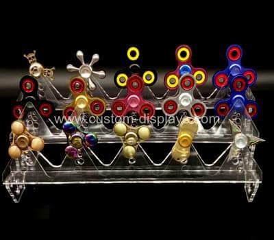 Finger spinner display rack