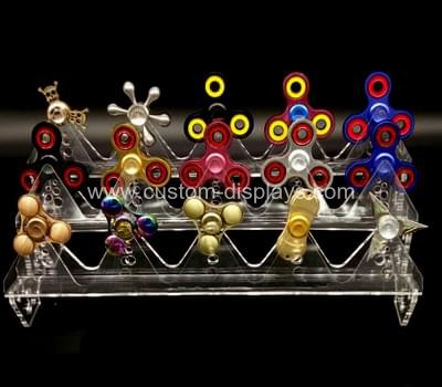 Finger spinner display rack