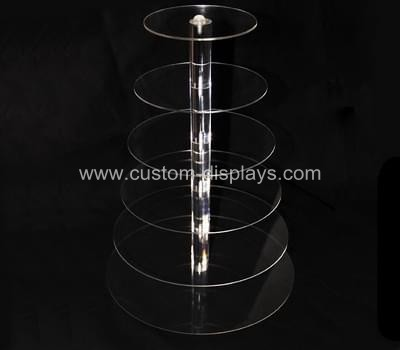 Clear cupcake stand