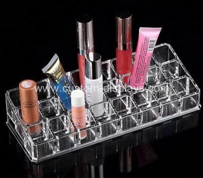 Clear lipstick organizer