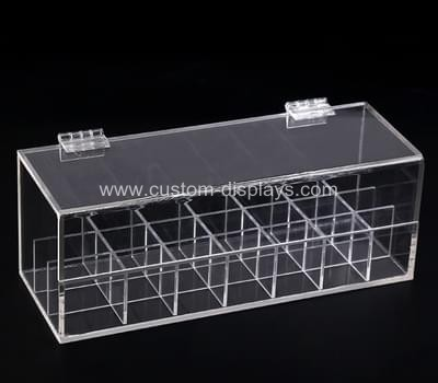 Acrylic hinged box